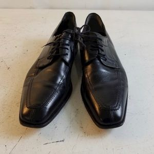 Mezlan Black Leather Oxfords